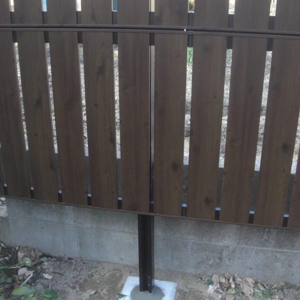 木目調フェンス, 目隠しフェンス2