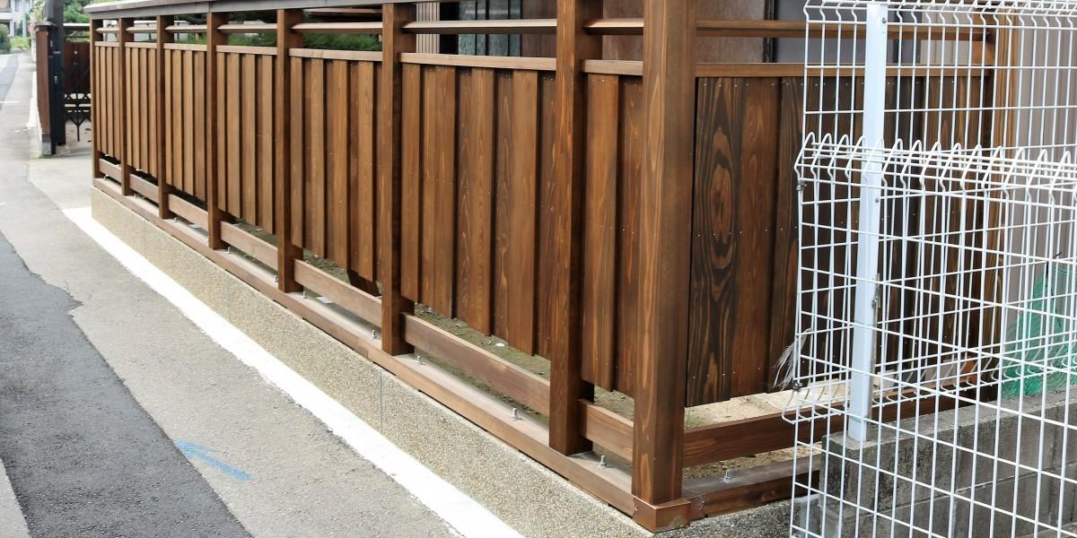 板塀4交換リフォーム