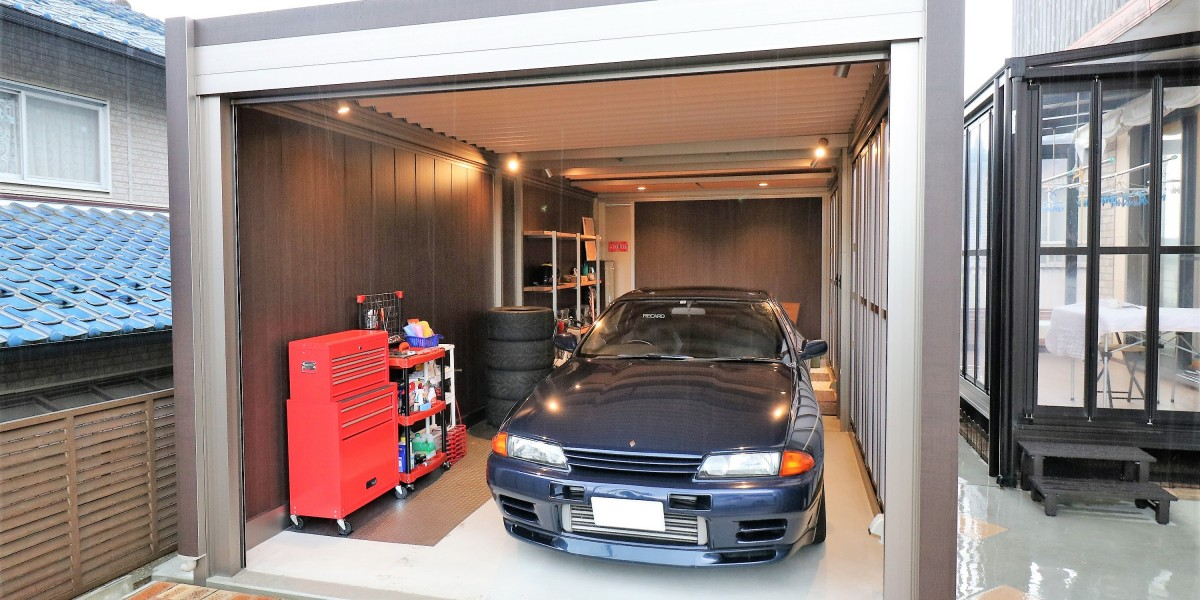 愛車を守るおしゃれでかっこいいガレージ取付工事|各務原市