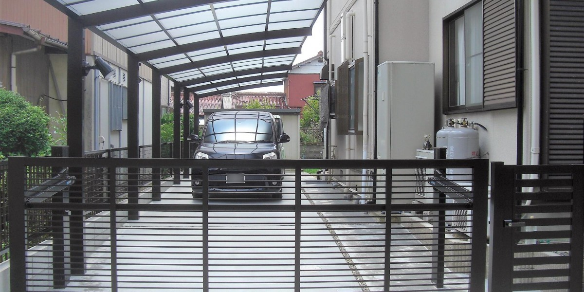 駐車場と門まわりのリフォーム工事|犬山市