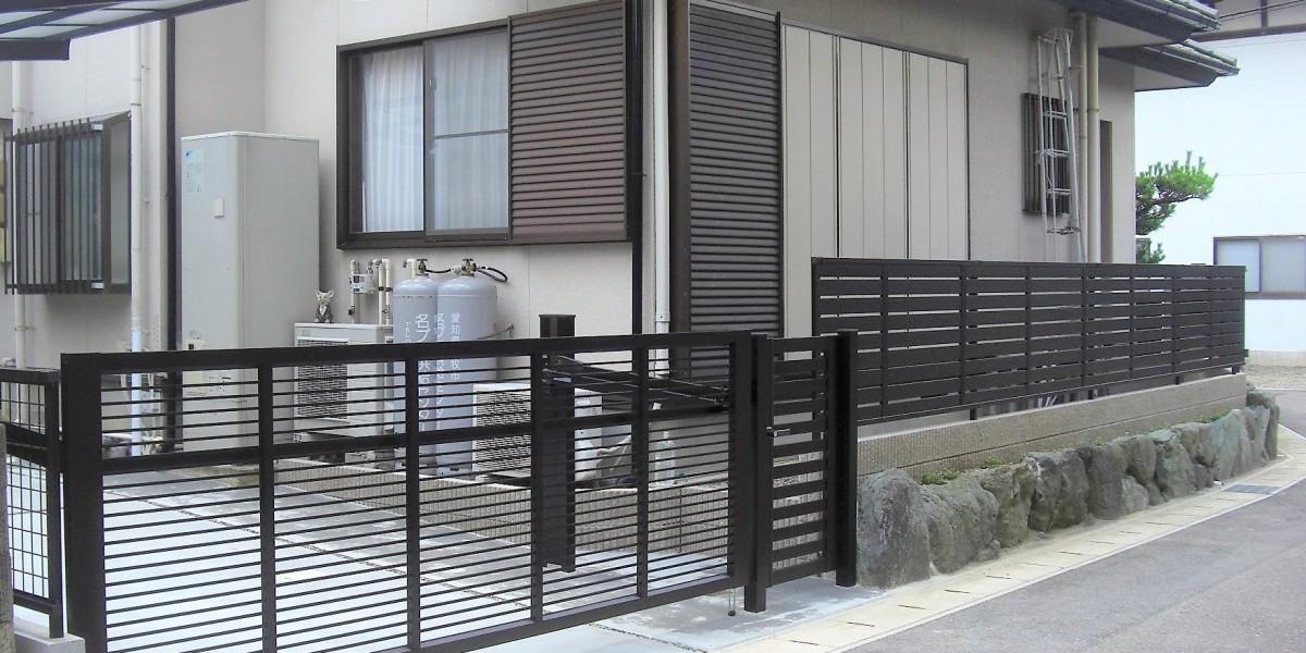 カーポート駐車場と門まわりのリフォーム3
