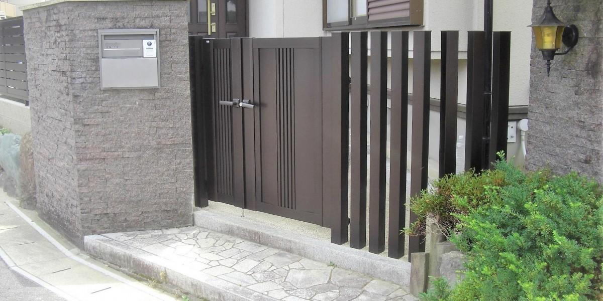 門扉・門まわりのリフォーム4