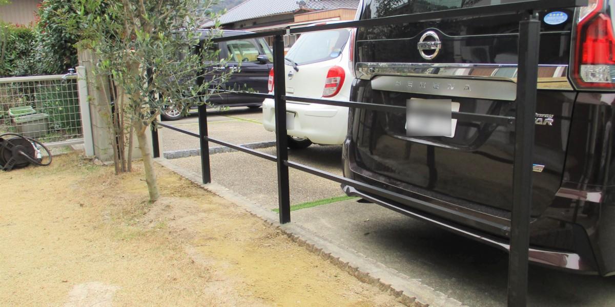 生垣をなくしてシンプルモダンンなフェンスの取付工事|犬山市
