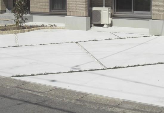土間コンクリート舗装