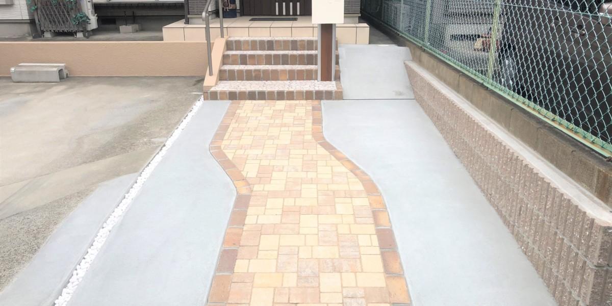 駐車スペース拡張工事|犬山市