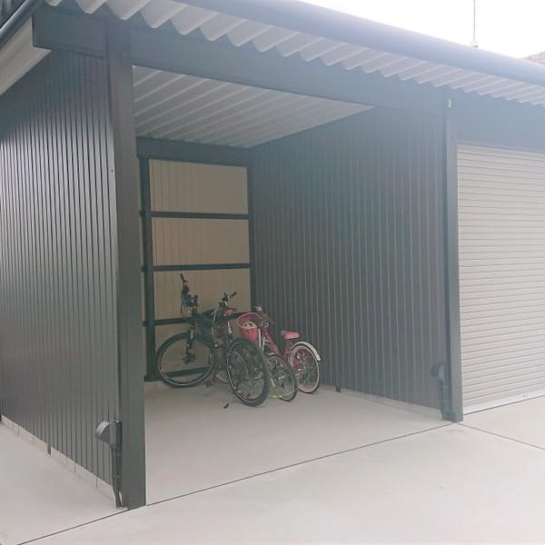 物置+自転車置場②