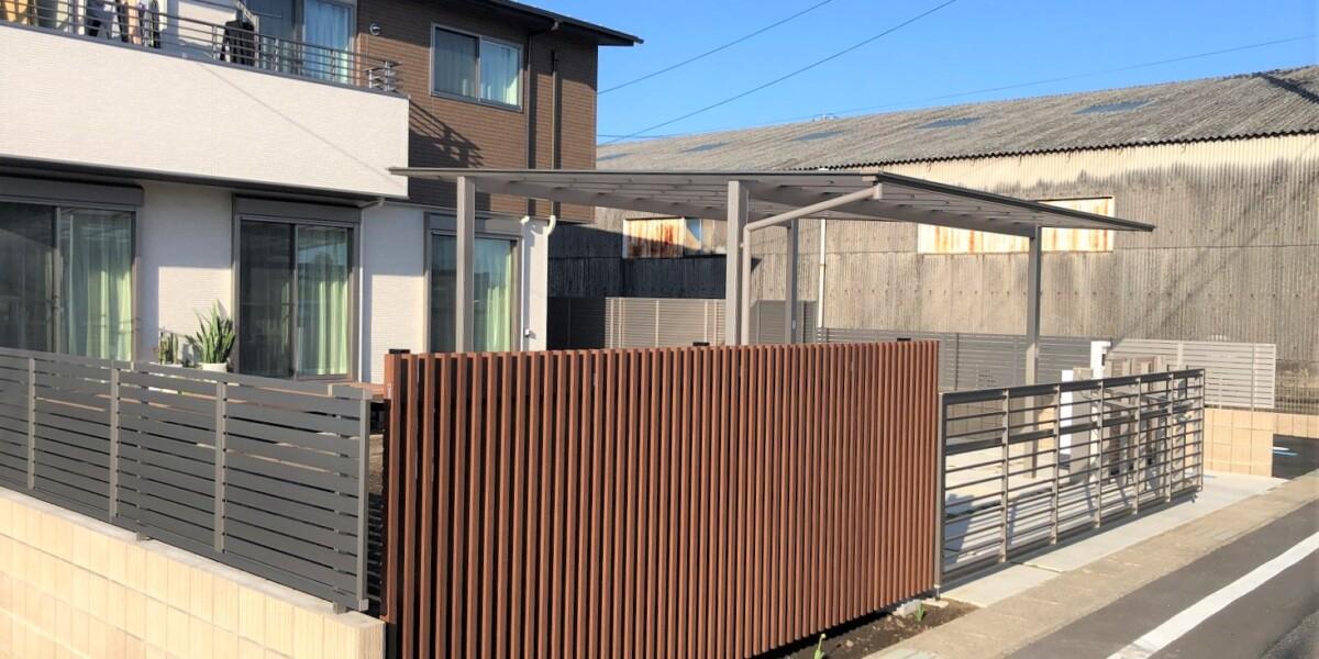 スクリーンフェンス・ブロック・フェンス